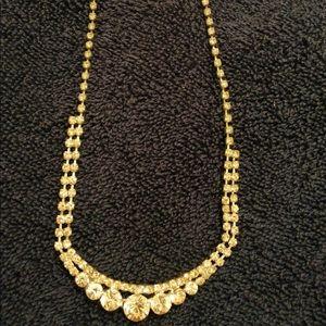 Macy's Rhinestone Necklace